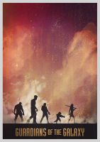 Guardians of the Galaxy by foreverclassic