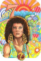 70's Afro by Catluckey