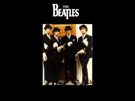 Top Hat Beatles by piratehippy