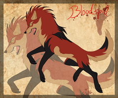 Gift-art Kay Fedewas Bloodspill by StanHoneyThief