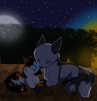 .:Safe And Sound:. by West-Kitsune