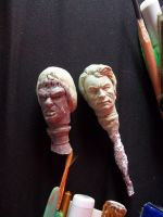 Doctor David Banner Head Sculpt WIP by ayelid