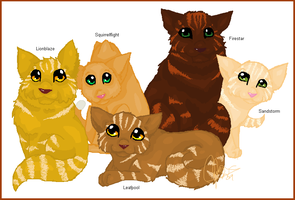 Family Portrait - Firestar by Shadowgaze