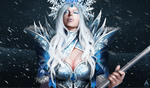Dota 2 - Rylai, the Crystal Maiden by Arcan-Anzas