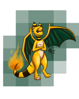 Cecilia the Amphizard by sophisticatedghost