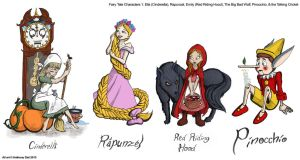 Fairy Tale Characters 1 by Gummibearboy