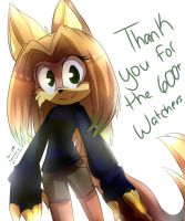 Thank you all for the 600+ Watchers by KaoMaou