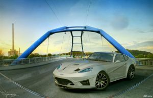 Ford GT-V concept 2 by cipriany