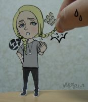 Lily Loveless Paper child ver. by elaineK