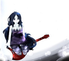 Kiriban Prize: Adventure Time, Marceline. by CallineXoP