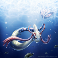 Milotic Fanart #350 by Sadako-xD