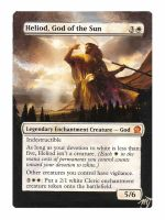 MTG Card Alter - Heliod, God of the Sun by InVenatrix