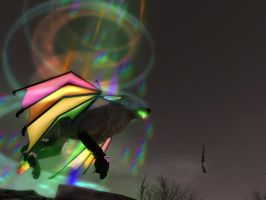 Trapped in the Rainbow Vortex by CuriousCreatures