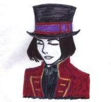 Willy Wonka - colored 2 by WilburRobinsonsGirl