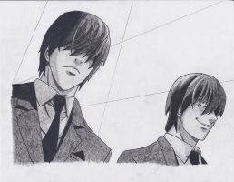 Light Yagami 2 by TLOWE1992
