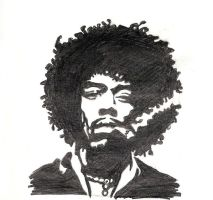 Hendrix by violentjelly
