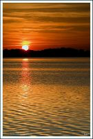 Sunrise at the Lake by TRBPhotographyLLC