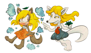 Lets be Foxes! by Chobits13