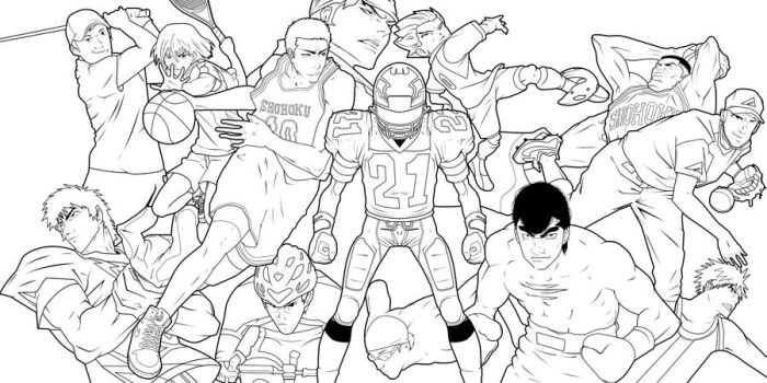SPORTS LINEART by Ernie-Parcon