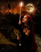 The Moon Warrior by Le-Regard-des-Elfes