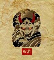 hannya sheet by marrocka