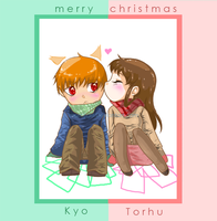 Merry christmas fruits basket by momijigirl