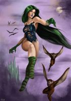 The Wicked Witch of the West by AmonAttila