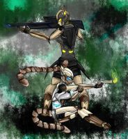 Yin and Yang TF - Action Arms by Gexon