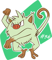 #56 Mankey by Renner-P