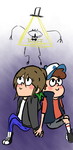 GF= Elizabeth and Dipper by Panjia