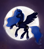 Princess of the Night by VolVokun
