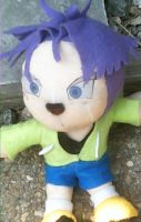 Trunks plushie by graphicspark