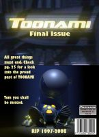 Toonami Issue Cover by chaospowerstone