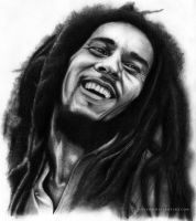 Bob Marley by chatoyantes