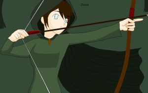 Shooting Arrows by GrimTalesLover14