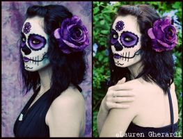 Sugar Skull- Jeri by lmgphotography