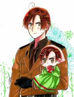 Aph Romano to ChibiRomano by White-Bears