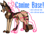 P2U Canine Base by xQueen