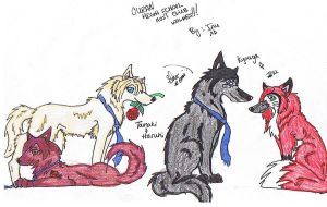 Ouran High School Wolves 1 by inukurosaki