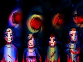 Five Nights at Freddy's - The Kids by o-Kairos-o