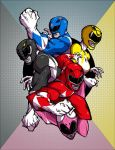 Power Rangers by Anny-D