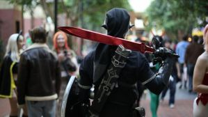 Dark Link Goes To Katsucon 2013 by yaphi1