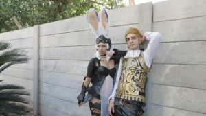 Balthier and Fran 01 by drkitsune