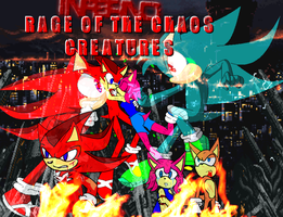 Inferno: Rage of the Chaos Creatures Poster by FlamingInfernoX
