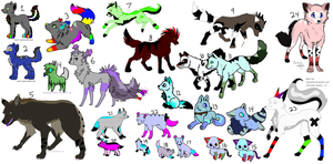 HUGE Pointables Sheet OPEN by 13sPointAdopts