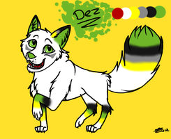 Dez, Adopted, Ref Sheet by Daisylasy3