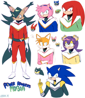 Power Rangers Mobia stuff by General-RADIX