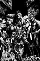 Secret Six cover by LiamSharp