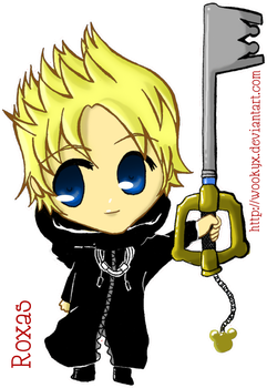 KH2 - Roxas by wookyx