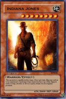 Indiana Jones Card by RyouKazehara